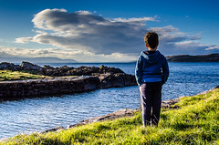 297 ~ 366 (BGDL) Tags: lightroomcc nikond7000 bgdl landscape goingfor4inarow~366 afsnikkor18105mm13556g seascape lewis portencross ayrshire lookingout