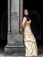 Belle in Central Park (estellerobertnyc) Tags: manhattan nyc nadia newyork belle centralpark dress ete jaune princess princesse robe summer yellow