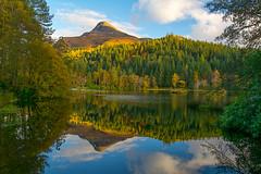 Glencoe Lochan (jilliannelson17) Tags: glencoe lochan scotland mountain loch autumn reflections wow