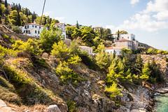 Hydra - Italianate Hillside Mansions 3 (Le Monde1) Tags: greece island hydra port coast monastery greek lemonde1 nikon d800e saronicislands aegean sea town italianate mansions hillside