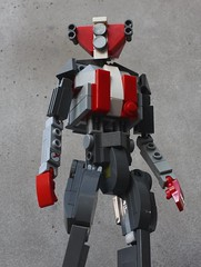 Made Man (SPARKART!) Tags: automated infantry robot sparkart lego toy soldier mecha mechanical mechanized