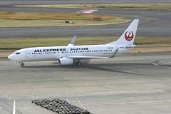 JA338J Boeing B738 HND 02Dec2012 (Citation Ten) Tags: ja338j b738 jal specialscheme hnd
