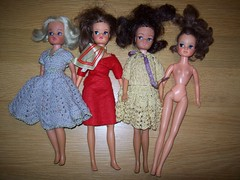 flea market finds (bigdogbowie) Tags: sindy martinair fleur doll dolls