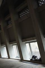 Tate Snooze (iamguy) Tags: tate modern london concrete gallery sleep rest snooze