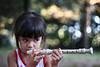 The bubble shooter - re-edit (Richard Twice) Tags: canon canoniani canoneos1200d kid child portrait music bokeh bokelicious angelica petri55mmf18