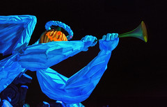 First Trumpet of the Apocalypse - EXPLORE (Matt Valeriote) Tags: disney disneyland californiaadventure hauntedmansion hauntedmansionholiday neworleanssquare halloween darkride nightmarebeforechristmas pumpkin timburton christmas