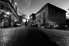 Hotel and Court (Brbelly) Tags: vermont hotel newcastle upon tyne black white night photography noir art