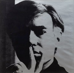 """ Self-Portrait "" 1966 by Andy Warhol / Pop Art (lalek72.popart) Tags: selfportrait popartculture art fineart artprint portrait andywarhol popartworld 1966"