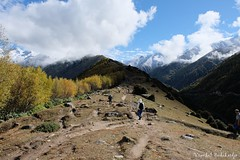 Siguniang Trek (Vinchel) Tags: china sichuan siguniang trek outdoor mountain hiking fuji xt2 1655mm f28 landscape hill mountainside travel