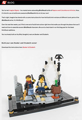Booker & Elizabeth, BioShock Infinite (Imagine) Tags: lego bioshock 2kgames booker elizabeth infinite customset instructions imaginerigney