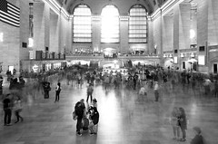 Time at Grand Central (John Flinchbaugh) Tags: station grandcentralterminal nyc ghosts people longexposure photoplusexpo newyork newyorkcity 2016 lancaster pennsylvania unitedstatesofamerica usa