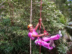 """Macucu Tree Climbing in Amazon. Manaus, Brazil. Feb 2011 #itravelanddance • <a style=""""font-size:0.8em;"""" href=""""http://www.flickr.com/photos/147943715@N05/30509133365/"""" target=""""_blank"""">View on Flickr</a>"""