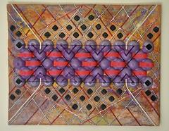 Congiunzioni di ogni tutto (Daniela Bellofiore Artista) Tags: quadri arte interni riciclo viola pittuta scultura