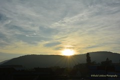 Coucher du soleil (khalid.lebdioui) Tags: sun soleil sunset cloud mountain montagne nikon d5200 france alsace guebwiller autumn automne