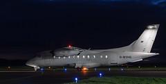 G-BYHG Dornier Do.328, Dundee (wwshack) Tags: dnd do328 dornier dundee egpn flybe loganair night riverside scotland taysideaviation gbyhg