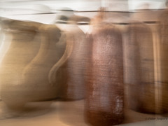 Alcohol is the liquid version of photoshop (Peter Jaspers) Tags: frompeterj 2016 olympus zuiko omd em10 1240mm28 motion blur icm kruik jar home abstract intentionalcameramovement hss sliderssunday alcohol booze decoration collection