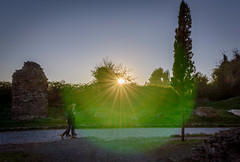 (massimopisani1972) Tags: appia antica via viaappiaantica appiaantica roma rome italia italy massimopisani massimo pisani tramonto sunset nikon d610 20300