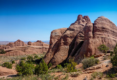 Devil's Garden Hiking trail - Arches National Park, Moab, Utah (ex_magician) Tags: archesnationalpark hiking trail devilsgarden utah moab september 2016 roadtrip kayaking desert moik photo photos picture pictures image lightroom adobe adobelightroom interesting vacation