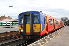 IMG_0571 (Jacob Tyne) Tags: class 455 4557 4558 4559 swt south west trains clapham junction emu electrical multiple units