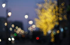 streetbokehscape (kinaaction) Tags: streetscape bokehscape street streetlights bokeh sonyilce6000 helios44m4 colours evening streetlamps novemberstreet warsaw poland 7dwf