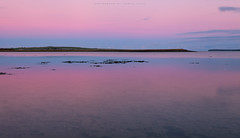 Silence over the Deer sound (Premysl Fojtu) Tags: evening goldenhour calm twilight dusk tankerness mainland island orkney colours pink purple peaceful beautiful scenery landscape seascape longexposure bay december winter scotland dslr canon eos 5dmkii fullframe ef1740 ndfilter 32x hoya minimalistic waterscape dreamscape