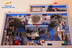 Modular Space Centre (sdrnet) Tags: lego classic space modular centre