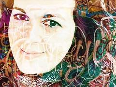 traces of me (saudades1000) Tags: selfie artistic creative traces saudades1000