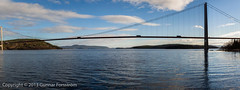Hogakustenbron_pan/Highcoastbridge_panorama (Gunnar Forsstrm) Tags: hgakustenbron panorama sweden bridge