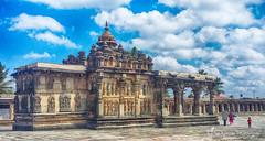 Ranganayaki Temple Belur HDR (Ganesh @bantakal.com) Tags: hoysala temple samsung sma300h chennakeshava belur karnataka vijayanarayana was built banks yagachi river by empire king vishnuvardhana hdr