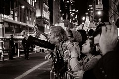 Manhattan protests (Pat Kelleher) Tags: protest manhattan street candid grain nyc