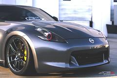 Nissan 370z x ACE FlowForm Series AFF02 (ACEALLOYWHEEL/AMF FORGED) Tags: ace acealloy acealloywheel acewheels nissanz nissan370z nissan 370z aftermarket wheels jdm coupe concave