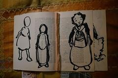 art book. (Danny W. Mansmith) Tags: workinprogress artistbook drawings dannymansmith improvisational quick gestural time hope art