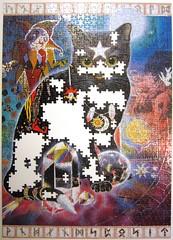The Joker (Una Woodruff) (Leonisha) Tags: puzzle jigsawpuzzle unfinished