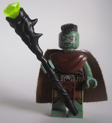 Female Orc Shaman (Quickblade22) Tags: custom brickforge arealight orc shaman