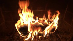 Home, home again (** RCB **) Tags: fire hearth fireplace log home