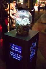Donations (Photo by Sean Chatham)