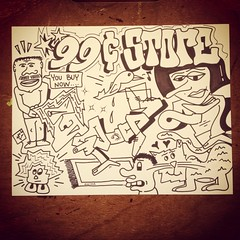 Money can't buy a feeling. (Micro Goblin) Tags: art illustration comics drawing bboy 99cent