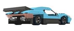 Estiletto (Schellerg, Pedro) Tags: cars sports car digital lego designer engine lamborghini v10 gallardo murcielago reventon aventador