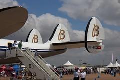 Breitling (Lockheed) Super Constellation (MatttHunt) Tags: tattoo air royal super international lockheed raf constellation aerospace fairford riat breitling 2013