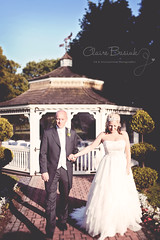 Hand in Hand, Dreams Combine (Claire Basiuk) Tags: trees wedding light love nature sunshine loving portraits walking outside hotel groom bride hall holding hands couple do shadows mr natural marriage romance together romantic blueskies mrs spa thornton wirral commitment handinhand potraiture