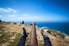 close enough haha (Moslem Mosbah) Tags: old sea nature clouds landscape fun tank arms legs