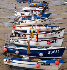 St Ives Fishing Boats (jd1001) Tags: summer boat fishing cornwall harbour july stives 2013