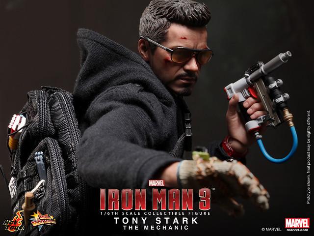 Hot Toys - MMS209 - 鋼鐵人 3: 1/6比例 東尼‧史塔克 (技師版)