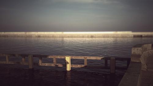 Sunny evening - Gdynia, Marina.