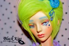 (Black*Kiss) Tags: bjd balljointeddoll dollzone fairykei starmonium popkei noirhouse blackkissfaceups