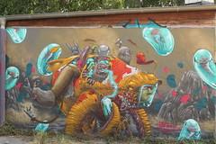 koi boi golden (Pixeljuice23) Tags: streetart graffiti mainz friendlyfire koiboi pixeljuice