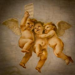 vid'io pi di mille (Antonio_Trogu) Tags: italy church italia singing chiesa angels vault modena fresco canto volta emiliaromagna affresco angeli putti sanbiagio mattiapreti antoniotrogu
