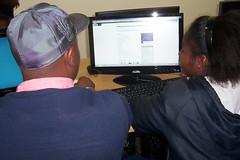 A good Sheperd learner showing her lyrics to Zukhani on awarenet (terri219) Tags: lyrics good peaceday sheperd awarenet