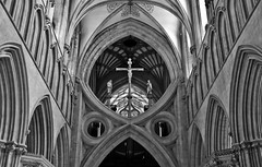 Wells Cathedral 32 (garyullah) Tags: cathedral gothic wells wellscathedral earlyenglish