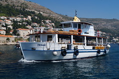 Tourist boat (BiggestWoo) Tags: cruise sea holiday royal croatia cruising international caribbean serenadeoftheseas dubrovnik serenade adriatic seas rci royalcaribbeaninternational